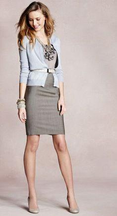 grayl-pencil-skirt-grayl-tee-blue-light-cardigan-bracelet-howtowear-fashion-style-outfit-spring-summer-belt-necklace-tan-shoe-pumps-hairr-work.jpg