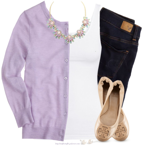 blue-navy-skinny-jeans-white-top-tank-purple-light-cardigan-bib-necklace-tan-shoe-flats-howtowear-fashion-style-spring-summer-outfit-lunch.jpg