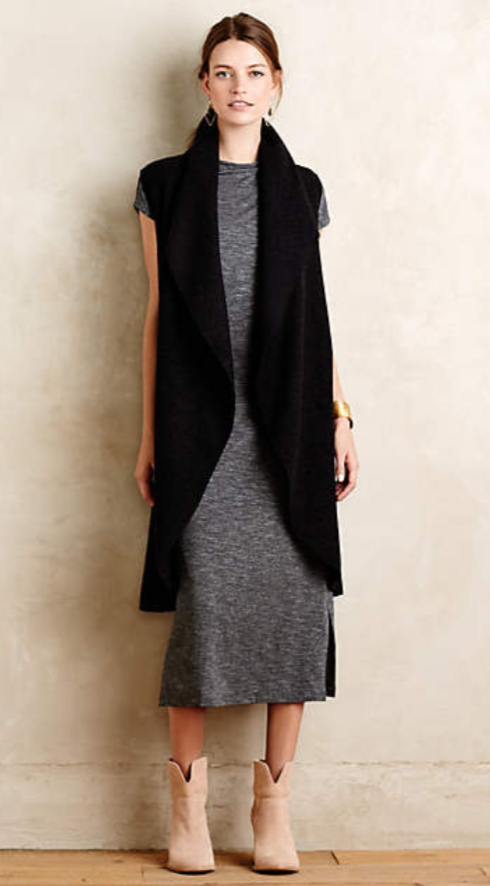 grayd-dress-black-vest-knit-tan-shoe-booties-pony-earrings-tshirt-wear-style-fashion-fall-winter-anthropologie-brunette-weekend.jpg