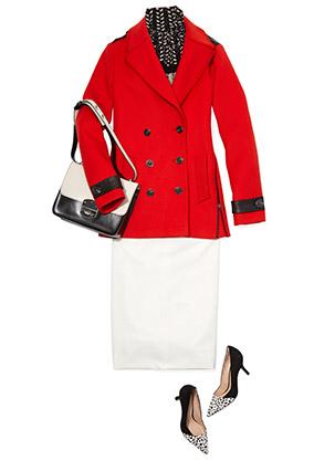 white-pencil-skirt-white-bag-black-shoe-pumps-red-jacket-coat-peacoat-fall-winter-work.jpg