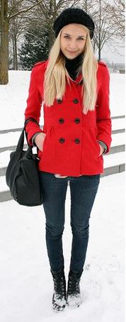 black-skinny-jeans-beanie-black-bag-blonde-red-jacket-coat-peacoat-fall-winter-lunch.jpg