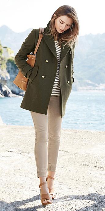 tan-skinny-jeans-tan-leggings-green-olive-tee-stripe-hairr-cognac-bag-cognac-shoe-sandalh-green-olive-jacket-coat-peacoat-spring-summer-lunch.jpg