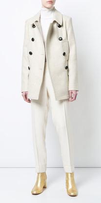 white-slim-pants-mono-tan-shoe-booties-gold-white-jacket-coat-peacoat-fall-winter-lunch.jpg