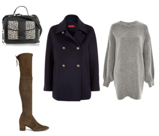 grayl-dress-sweater-tan-shoe-boots-otk-black-bag-black-jacket-coat-peacoat-fall-winter-lunch.jpg