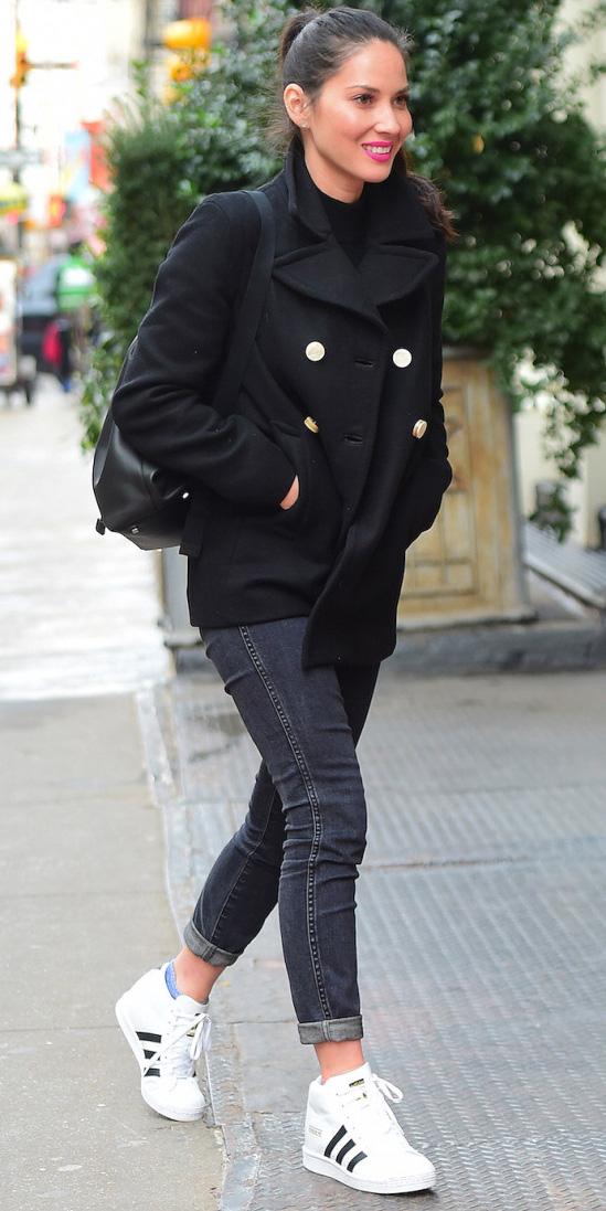 black-skinny-jeans-white-shoe-sneakers-brun-pony-oliviamunn-black-jacket-coat-peacoat-fall-winter-weekend.jpg