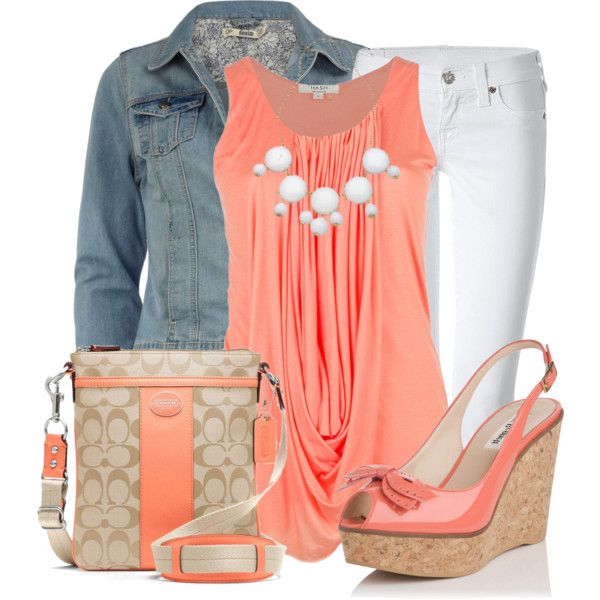 white-skinny-jeans-o-peach-top-bib-necklace-tan-bag-peach-shoe-sandalw-blue-light-jacket-jean-howtowear-fashion-style-outfit-spring-summer-lunch.jpg