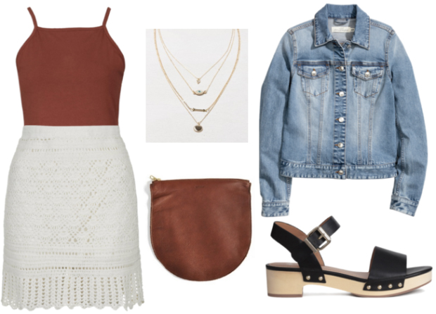 white-mini-skirt-o-camel-top-blue-light-jacket-jean-brown-bag-howtowear-fashion-style-outfit-spring-summer-black-shoe-sandals-necklace-lunch.jpg