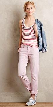 r-pink-light-chino-pants-red-top-tank-stripe-blue-light-jacket-jean-gray-shoe-sneakers-bun-spring-summer-style-fashion-wear-anthropologie-blonde-weekend.jpg
