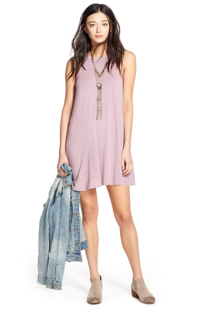 r-pink-light-dress-a-blue-light-jacket-jean-tan-shoe-booties-swing-necklace-pend-spring-summer-brunette-weekend.jpg