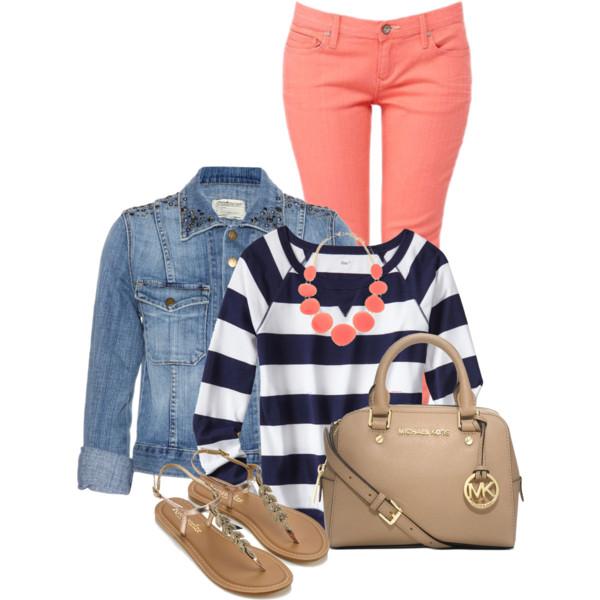 orange-skinny-jeans-blue-navy-tee-stripe-bib-necklace-tan-shoe-sandals-tan-bag-blue-light-jacket-jean-howtowear-fashion-style-outfit-spring-summer-lunch.jpg