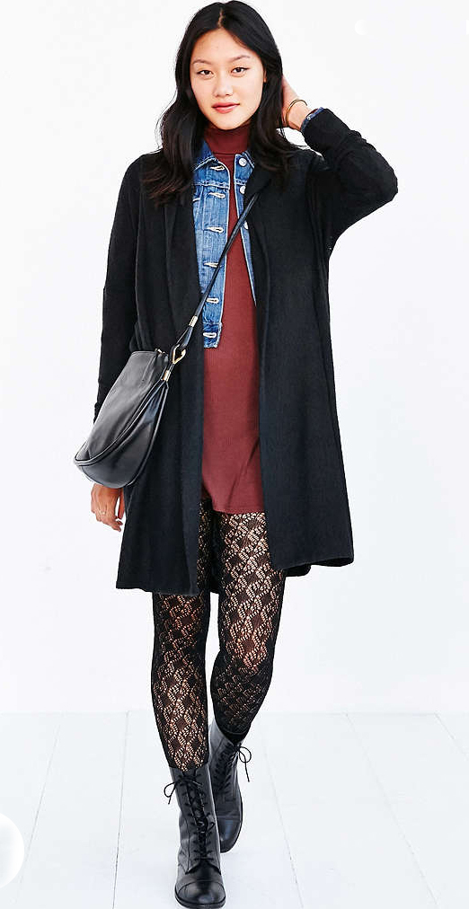 red-dress-black-cardiganl-blue-med-jacket-jean-black-tights-black-shoe-booties-black-bag-crossbody-tshirt-wear-style-fashion-fall-winter-layer-brunette-lunch.jpg
