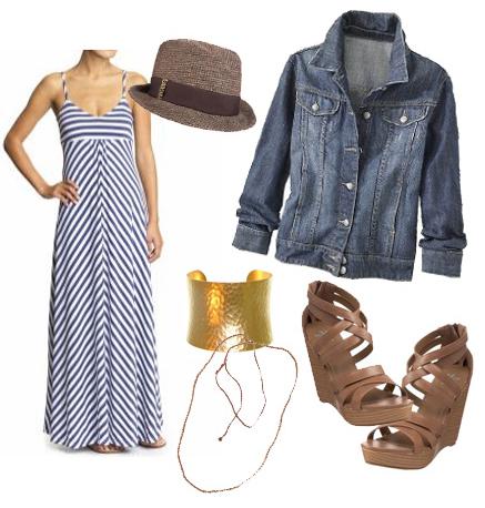 blue-med-dress-stripe-maxi-blue-med-jacket-jeans-cognac-shoe-sandalw-bracelet-hat-necklace-howtowear-fashion-style-outfit-spring-summer-lunch.jpg