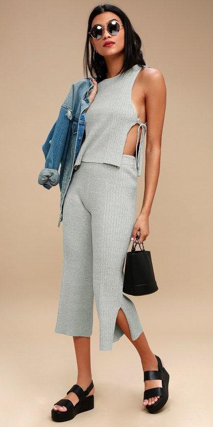 grayl-culottes-pants-grayl-top-matchset-black-bag-black-shoe-sandals-brun-sun-blue-med-jacket-jean-spring-summer-weekend.jpg