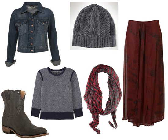 grayl-sweater-sweatshirt-beanie-blue-navy-jacket-jean-black-shoe-booties-burgundy-maxi-skirt-fall-winter-weekend.jpg