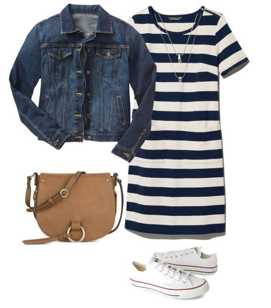 blue-navy-dress-stripe-tshirt-white-shoe-sneakers-blue-navy-jacket-jean-cognac-bag-necklace-howtowear-fashion-style-outfit-spring-summer-weekend.jpg
