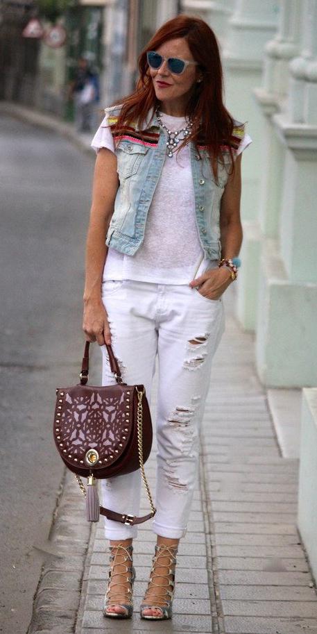 white-boyfriend-jeans-white-tee-bib-necklace-hairr-sun-blue-light-vest-jean-brown-bag-gray-shoe-sandalh-spring-summer-lunch.jpg