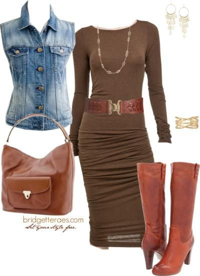 brown-dress-bodycon-cognac-shoe-boots-cognac-bag-belt-blue-med-vest-jean-earrings-fall-winter-lunch.jpg