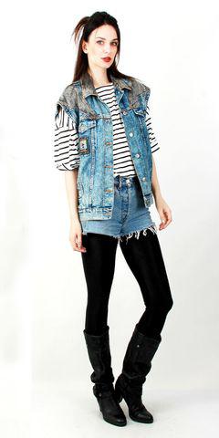 blue-med-shorts-denim-blue-med-vest-jean-black-tee-stripe-black-tights-black-shoe-boots-brun-fall-winter-weekend.jpg