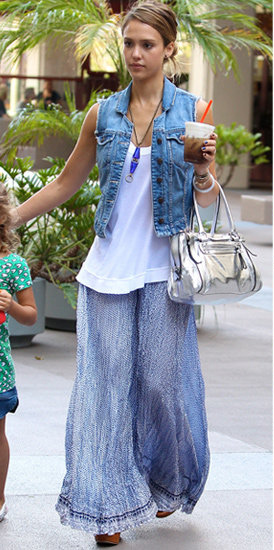 blue-light-maxi-skirt-white-top-tank-blue-med-vest-jean-gray-bag-necklace-pend-bun-wear-style-fashion-spring-summer-jessicaalba-celebrity-sandals-hairr-lunch.jpg