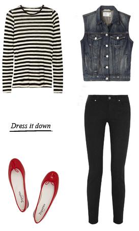 black-skinny-jeans-black-tee-stripe-blue-med-vest-jean-red-shoe-flats-howtowear-fashion-style-outfit-spring-summer-weekend.jpg