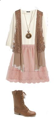 pink-light-mini-skirt-white-top-necklace-pend-camel-vest-moto-fringe-brown-shoe-booties-spring-summer-weekend.jpg