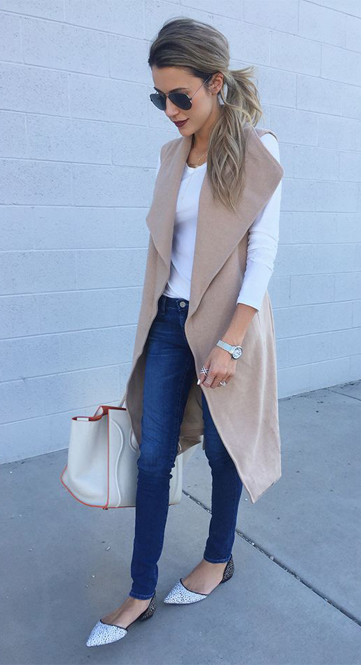 blue-navy-skinny-jeans-white-tee-tan-vest-tailor-white-bag-white-shoe-flats-sun-pony-watch-howtowear-fashion-style-spring-summer-outfit-blonde-lunch.jpg