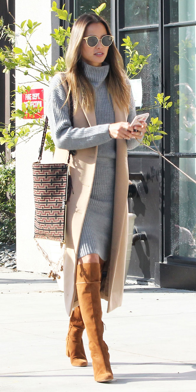 grayl-dress-sweater-turtleneck-tan-vest-tailor-cognac-shoe-boots-hairr-sun-layer-streetstyle-jamiechung-fall-winter-lunch.jpg