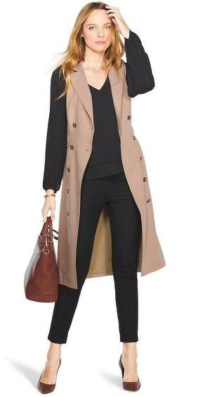 black-slim-pants-black-top-blouse-camel-vest-tailor-brown-bag-brown-shoe-pumps-howtowear-fashion-style-outfit-fall-winter-blonde-work.jpg
