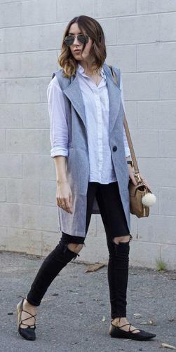 black-skinny-jeans-white-collared-shirt-grayl-vest-tailor-hairr-sun-tan-bag-black-shoe-flats-fall-winter-weekend.jpg
