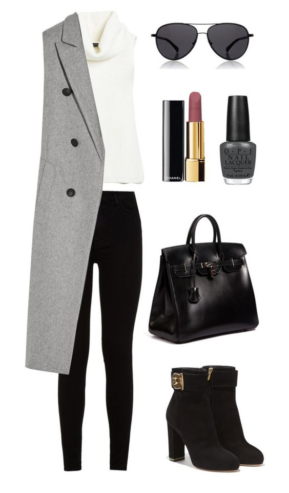 black-skinny-jeans-white-sweater-sleeveless-grayl-vest-tailor-sun-black-shoe-booties-black-bag-hand-nail-howtowear-fashion-style-outfit-fall-winter-lunch.jpg