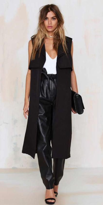 black-joggers-pants-white-cami-hairr-black-vest-tailor-black-shoe-sandalh-black-bag-clutch-spring-summer-dinner.jpg