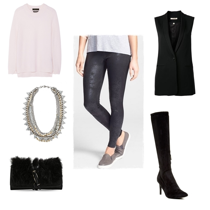 black-leggings-r-pink-light-sweater-black-vest-tailor-black-bag-necklace-black-shoe-boots-leather-wear-outfit-fashion-fall-winter-dinner.jpg