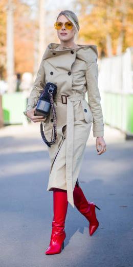 red-shoe-boots-blonde-bun-sun-tan-jacket-coat-trench-fall-winter-lunch.jpg