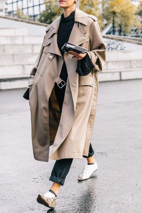 black-boyfriend-jeans-black-sweater-tan-jacket-coat-trench-fall-winter-weekend.jpg