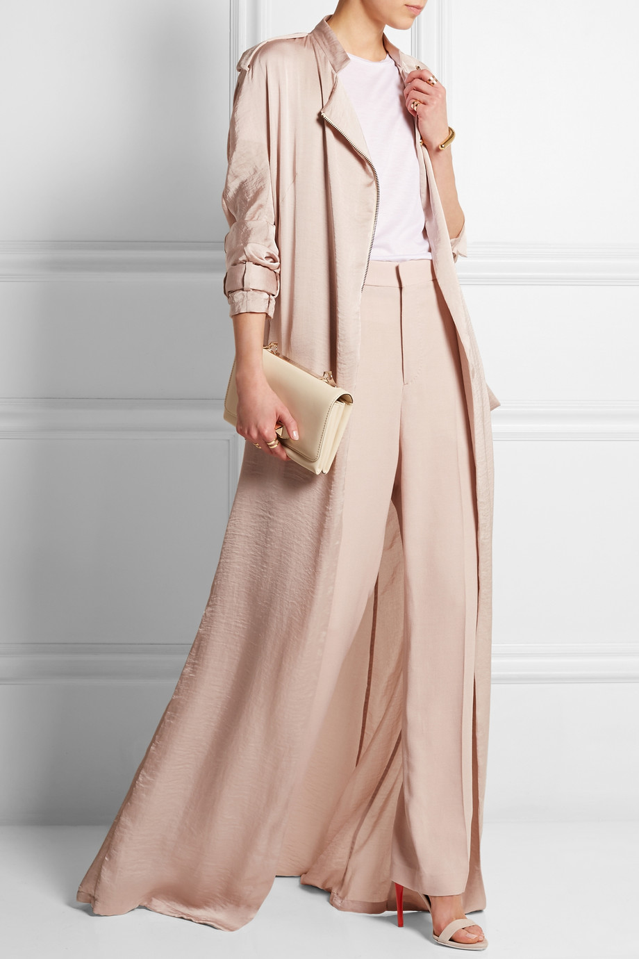 peach-wideleg-pants-mono-peach-jacket-coat-trench-spring-summer-dinner.jpg