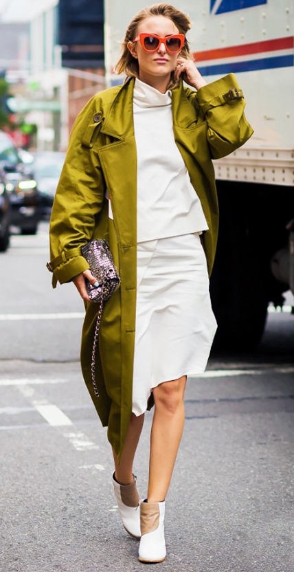 white-pencil-skirt-white-sweater-turtleneck-green-olive-jacket-coat-trench-white-shoe-booties-sun-howtowear-fashion-style-outfit-spring-summer-work-blonde-dinner.jpg