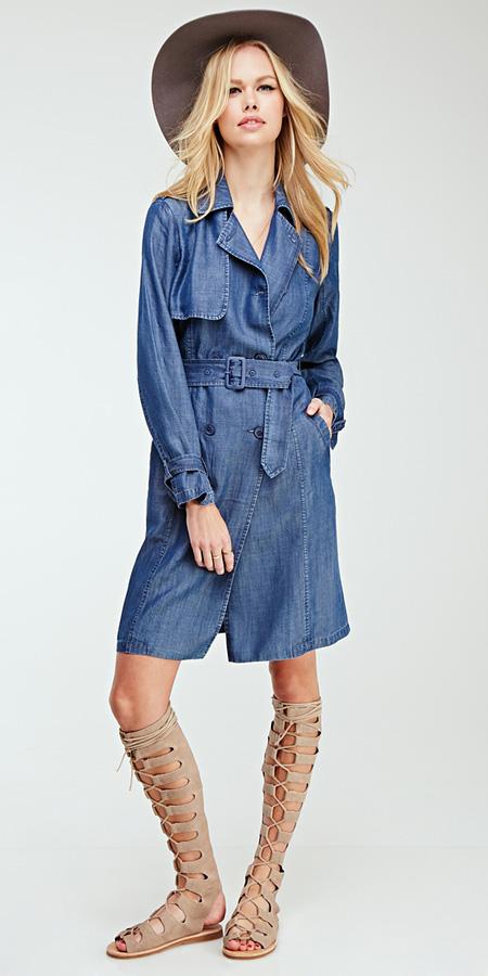 tan-shoe-sandals-gladiators-blonde-blue-med-jacket-coat-trench-spring-summer-weekend.jpg