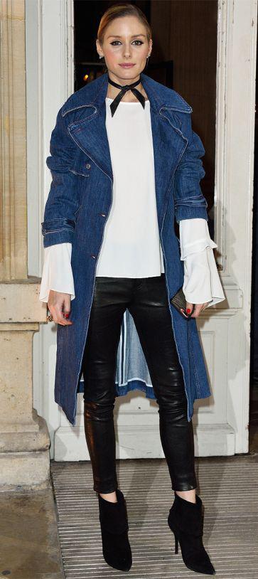 black-skinny-jeans-white-top-blouse-bellsleeve-hairr-bun-choker-black-shoe-booties-oliviapalermo-denim-blue-med-jacket-coat-trench-fall-winter-lunch.jpg
