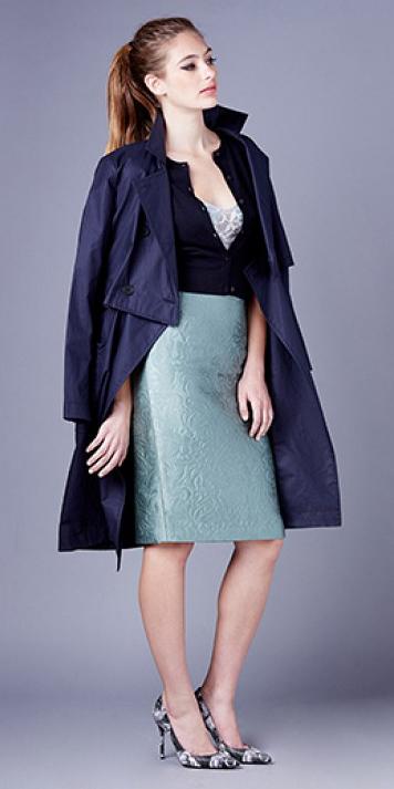 green-light-pencil-skirt-blue-navy-jacket-coat-trench-pony-howtowear-style-fashion-spring-summer-blue-navy-cardigan-hairr-dinner.jpg