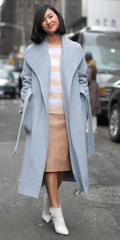 tan-pencil-skirt-tan-sweater-stripe-brun-lob-white-shoe-booties-grayl-jacket-coat-trench-fall-winter-lunch.jpg