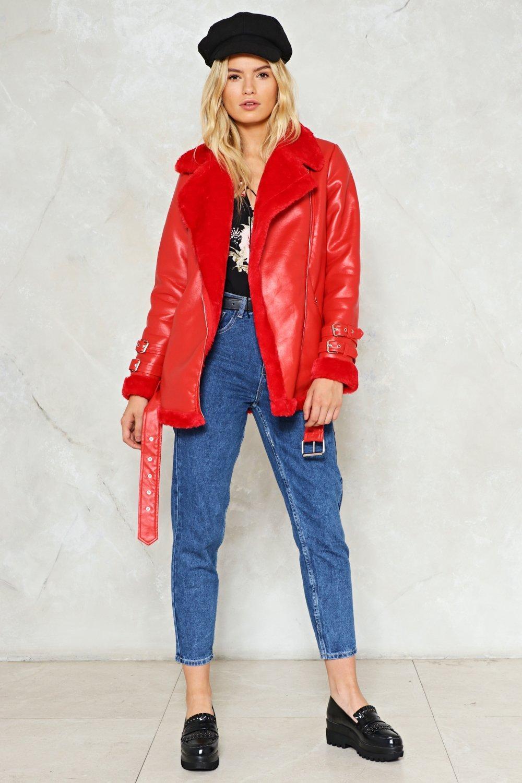 blue-med-skinny-jeans-blonde-black-shoe-loafers-red-jacket-moto-hat-fall-winter-weekend.jpg