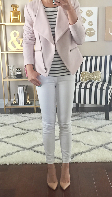 white-skinny-jeans-black-tee-stripe-pink-light-jacket-moto-tan-shoe-pumps-howtowear-fashion-style-outfit-spring-summer-lunch.jpg