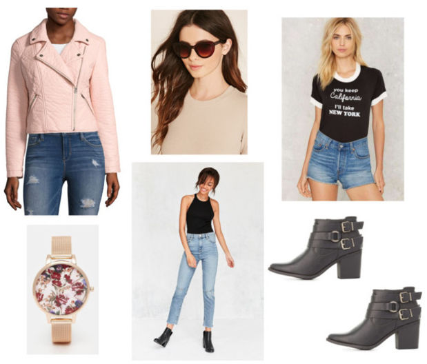 blue-light-skinny-jeans-black-tee-r-pink-light-jacket-moto-howtowear-fashion-style-outfit-spring-summer-black-shoe-booties-watch-graphic-sun-lunch.jpg