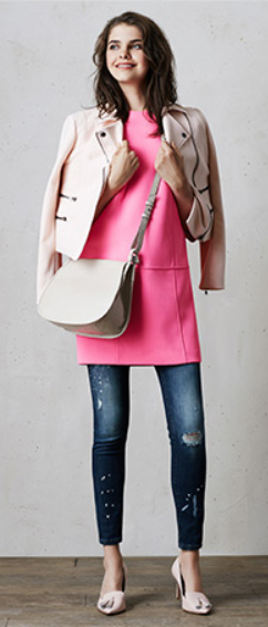 blue-navy-skinny-jeans-r-pink-magenta-top-pink-light-jacket-moto-white-bag-pink-shoe-pumps-howtowear-style-fashion-spring-summer-tunic-denim-bananarepublic-outfit-hairr-dinner.jpg