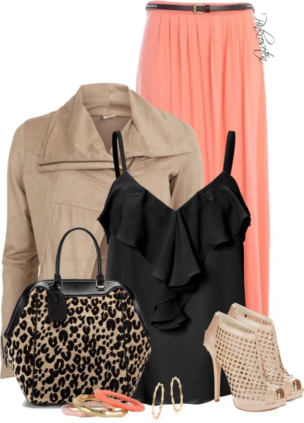 black-cami-tan-jacket-moto-tan-bag-leopard-print-tan-shoe-sandalh-ruffle-earrings-peach-maxi-skirt-spring-summer-dinner.jpg