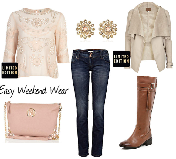 blue-navy-skinny-jeans-white-top-lace-tan-jacket-moto-pink-bag-howtowear-fashion-style-outfit-fall-winter-lace-studs-drape-cognac-shoe-boots-lunch.jpg