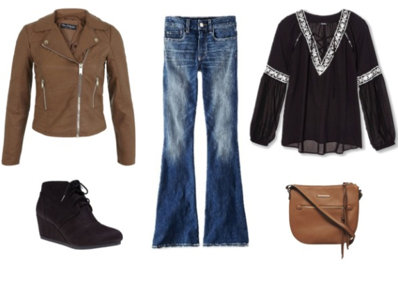 blue-med-flare-jeans-black-top-blouse-peasant-tan-jacket-moto-black-shoe-booties-cognac-bag-howtowear-fashion-style-outfit-fall-winter-lunch.jpg
