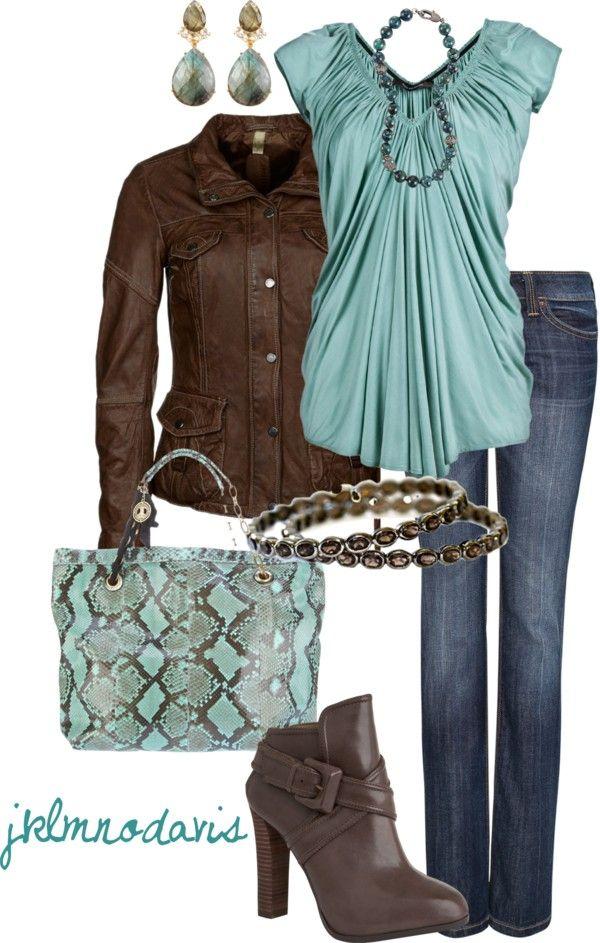 blue-navy-skinny-jeans-brown-shoe-booties-earrings-blue-light-top-brown-jacket-moto-fall-winter-lunch.jpg