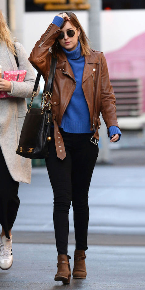 black-skinny-jeans-blue-med-sweater-howtowear-style-fashion-fall-winter-cobalt-turtleneck-brown-jacket-moto-black-bag-sun-celebrity-cognac-shoe-booties-hairr-lunch.jpg
