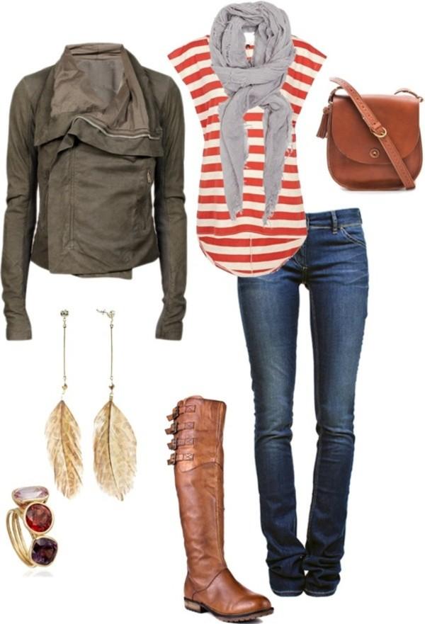 blue-navy-skinny-jeans-orange-tee-stripe-grayl-scarf-green-olive-jacket-moto-earrings-ring-cognac-bag-cognac-shoe-boots-howtowear-fashion-style-outfit-fall-winter-weekend.jpg